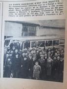 1951 HENIN LIETARD  La Carpe Henenoise  En Déplacement à Mareuil - France