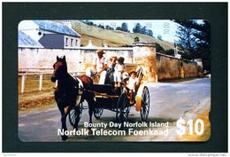 NORFOLK ISLAND - Magnetic Phonecard Used - Norfolk Eiland