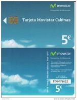 Spain  04/16 Movistar Cabinas Phonecard 2016 - Basic Issues