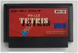 Famicom Japanese : Tetris BPS-T0 - Electronic Games