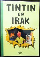 Pastiche / Parodie TINTIN - Tintin En Irak Et Tintin Dans La Lune. Couverture Souple. - Tintin