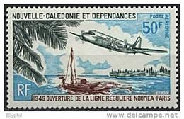 Nelle Calédonie, PA N° 109** Y Et T - Poste Aérienne