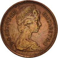 Grande-Bretagne, Elizabeth II, 1/2 New Penny, 1971, TTB, Bronze, KM:914 - 1971-… : Monnaies Décimales