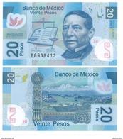 Mexico 20 Pesos P-122 2013 Serie W UNC - Mexico