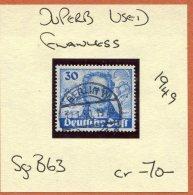 1949 Germany Berlin 30Pf Goethe Airmail Fine Used - [7] Federal Republic
