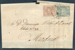 1875 Spain Linares Entire - Madrid - 1875-1882 Königreich: Alphonse XII.