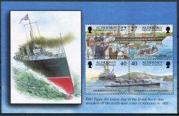 Alderney HMS Viper Ship Wreck, HMS Majestic, Torpeedo Boats Unmounted Mint - Alderney