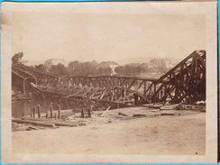 RZESZOW - Destroyed Railway Bridge  ( Poland ) * REAL PHOTO - Poland