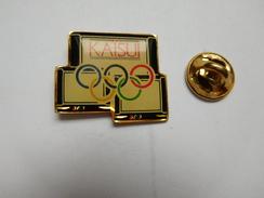 Beau Pin's , JO Jeux Olympiques , Kaïsui - Olympische Spelen