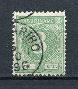 Suriname Nr.25 A         O  Used       (011) - Surinam ... - 1975