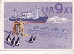 Radio. Russia. Antarctica. Soviet Expedition.flot - Russia