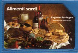 (1Eu) USATA ° -  ALIMENTI SARDI  - LIRE 10.000  C&C. 2256 - Mn.  Vedi Descrizione - Italy