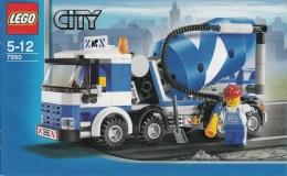 Lego 7990 Ville La Bétonneuse Avec Plan 100 % Complet - Lego System