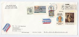 1996 USA COVER SLOGAN Illus FISH, FROG , PROTECT ENDANGERED SPECIES Nature Conservation Stamps - United States