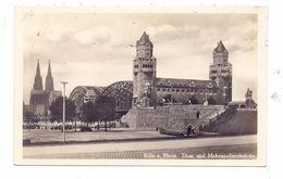 5000 KÖLN - DEUTZ, Aufgang Zur Hohenzollernbrücke, NS-Zeit - Koeln