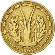 West African States, 10 Francs, 1964, Paris, TTB, Aluminum-Bronze, KM:1 - Ivory Coast