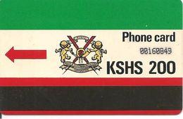 CARTE-MAGNETIQUE-KENYA-200--TBE - Phonecards