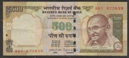 INDE / INDIA  GANDHI  500 R.      BANKNOTE    Note N°873859   FINE - India