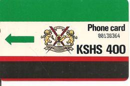 CARTE-MAGNETIQUE-KENYA-400--TBE - Phonecards