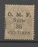 SYRIE N° 31 OBL TB - Syrien (1919-1945)