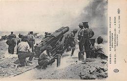 TURQUIE - Militaria -  1914-15 - AUX DARDANELLES - Une Grosse Pièce Anglaise - Canon - Turchia