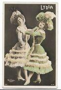 Lydia - Artiste De La Belle époque - Carte Postale Ancienne -  Femme Lady Frau - Artistes