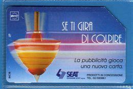 (1Eu) USATA ° -  SEAT - TROTTOLA- Se Ti GIRA Di COLPIRE -  C&C. 2275 - Mn.  Vedi Descrizione - Italy