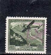 LIECHTENSTEIN 1930 O - Poste Aérienne