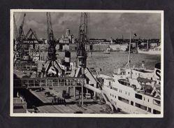 CPSM - HELSINKI HELSINGFORS - Le Port (Bateaux Et Grues ) - Finlande