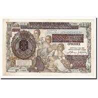 Serbie, 1000 Dinara On 500 Dinara, 1941-05-01, KM:24, TTB+ - Serbie