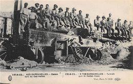 TURQUIE - Militaria - 1914-15 - AUX DARDANELLES - Canon Turc Au Cap Helles - Turchia