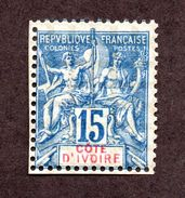 Cote D'ivoire N°6 N* TB Cote 40 Euros !!! - Neufs