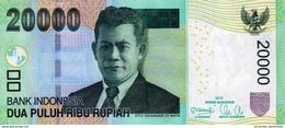 INDONESIA 20000 RUPIAH 2012 (2004) P-151b UNC  [ID605b] - Indonesia