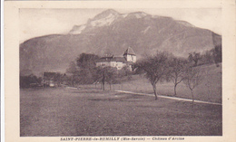 Cpa -74-saint Pierre De Rumilly--chateau D'arcines- - France