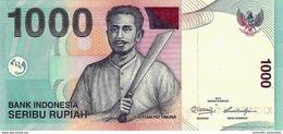 INDONESIA 1000 RUPIAH 2013 (2000) P-141m UNC  [ID597m] - Indonesia