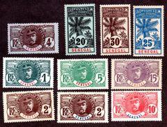 Sénégal N°30 à 38 N* TB Cote 74 Euros !!! - Neufs