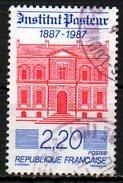 FRANCE. N°2496 Oblitéré De 1987. Institut Pasteur. - Louis Pasteur