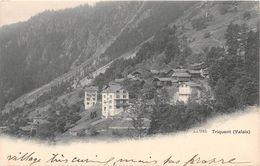 SUISSE - TRIQUENT - Village - Hôtel Pension Du MONT ROSE - VS Valais