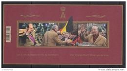 2013 - Bl 208 - XX - Koning Albert II 20 Jaar Op De Troon /  Les 20 Ans De Régne Du Roi Albert II - Blocks & Kleinbögen 1962-....