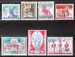 1082/88**  Légendes Et Folklore Belges - Série Complète - MNH** - Vendu à 10% Du COB!!!! - Belgique