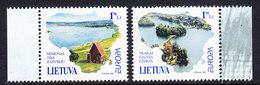 Europa Cept 2001 Lithuania 2v ** Mnh (36685a) Promotion - Europa-CEPT