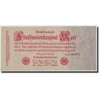 Allemagne, 500,000 Mark, 1923, KM:92, 1923-07-25, TB - 1918-1933: Weimarer Republik