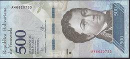 Venezuela 500 Bolivares 2016 PnewUNC - Venezuela