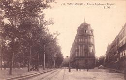 CPA (31) TOULOUSE Allée Alphonse Peyrat (2 Scans) - Toulouse