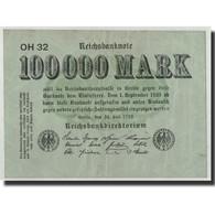 Allemagne, 100,000 Mark, 1923, KM:91a, 1923-07-25, TB - [ 3] 1918-1933: Weimarrepubliek