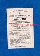 Faire Part De Décés De 1899 - CAMPHIN En CAREMBAULT - Charles HERENG Professeur Au Petit Séminaire Cambrai - Généalogie - Obituary Notices