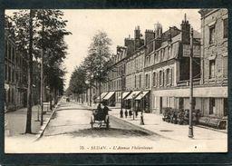 CPA - SEDAN - L'Avenue Philipoteaux, Animé - Attelage - Sedan