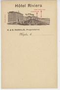 ITALIE - NAPOLI - Hôtel RIVIERA - Napoli (Naples)