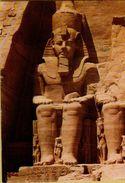 140056 ABOU SIMBEL EGITTO BEI FRANCOBOLLI STAMP - Abu Kabir