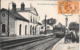 LA FERTE ST AUBIN. La Gare - La Ferte Saint Aubin